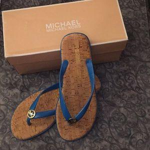 Michael Kors Jet Set Jelly sandal